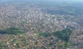 Chapec� - Vista a�rea de Chapec�, Por Thiago Moschetta